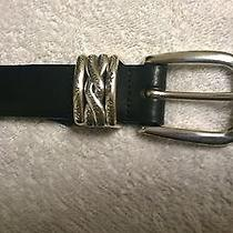 Brighton Universal Black Belt Size 32  Photo