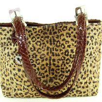 Brighton Utility Bag Catwalk Animal Print Leopard Tote Style Bag  Photo