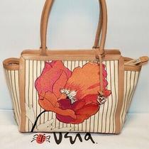 Brighton Vera Poppy Collection Tote Shoulder Handbag Purse Mint cond.mrp 285 Photo
