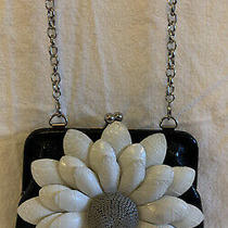 Brighton Wallet Chain Purse Black Leather  Photo