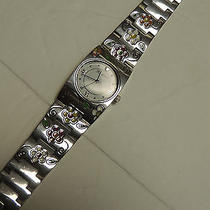 Brighton Watch Martinque Silver/multi Colors Nwt Photo