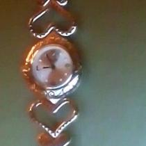 Brighton Watch With Hearts and Toggle Bracelet Photo