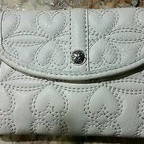 Brighton White Small Wallet With Cell Phone Holder Photo