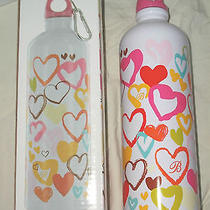 Brighton  Wild Heart Stainless Steel  Water Bottle  New in Box Photo