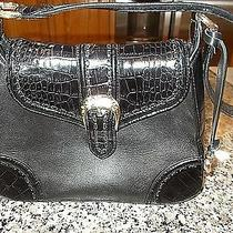 Brighton Womens Black Leather Style Purse  Photo