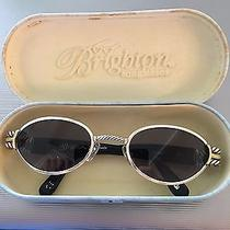 Brighton Womens Cabaret Oval Sunglasses Sg-488-130 With Case Photo