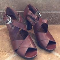 Brighton Womens Shoes New Brown Heels 8.5 M
