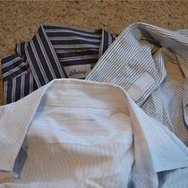 Brioni Prada Lot of Three (3) Altered Dress Shirts Medium M Recent Photo