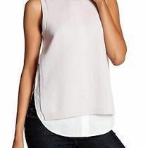 Brochu Walker 161384 Women's Asa Looker Wool Blend Tank Top Sweater Blush Sz. Xs Photo