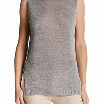 Brochu Walker New Gray Women's Size Xs Mesh Helen Knit Tank Top 238 497 Photo