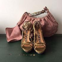 Bronze Lanvin Heels With Box Photo