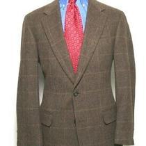 Brook Brothers Sport Coat Men's Size 42 Brown (S3) Photo