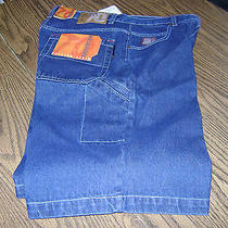 Brooklyn Express Men Jean Shorts (Nwt) Size 34 X 12.5 5 Pocket Style Photo