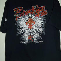 Brooklyn Express Men's Black Graphic & Embroidered Accented T-Shirt  Sz Xxl Photo