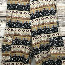 Brooklyn Express Men's Cargo Shorts Aztec Southwestern Size 34 Photo