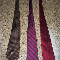 Brooks Brothers and Givenchy Pure Silk Ties Photo