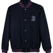 Brooks Brothers Boys Varsity Wool Blend Dark Blue/navy Jacket Photo