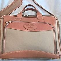 Brooks Brothers by Hartmann Brown Briefcase Business Laptop Bag  Photo