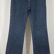 Brooks Brothers Dark Wash Straight Leg Denim Blue Jeans Ladies Size 4 30w X 31l Photo