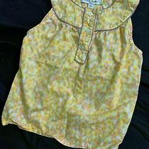 Brooks Brothers Girls Fleece Yellow White Pink Gray Tank Top 8 Photo