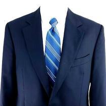Brooks Brothers Loro Piana 40r 2 Gold Button Blue Wool Blazer Tagged 41r Photo