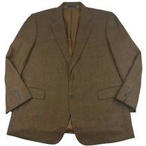 Brooks Brothers Madison Tweed Wool Cashmere 46r Brown Herringbone Sport Coat Photo