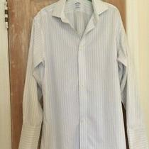 Brooks Brothers Men's Striped Shirt W/french Cuffs (15-1/2 33) (New W/o Tags) Photo