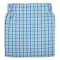 Brooks Brothers Mens Blue/green Gingham Plaid Regular Fit Cotton Boxerxl 8433-7 Photo