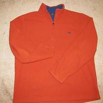 Brooks Brothers Rust Burnt Orange Golden Fleece 1/2 Zip Sweater Sweatshirt-Xl/l Photo