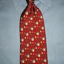 Brooks Brothers Silk Tie Floral  Design  Photo