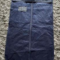 Brooks Brothers Suit Bag Garment Case Navy Blue Photo
