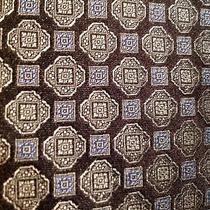 Brooks Brothers Tie Dark Grey Graphite Medallions Geometric Photo