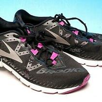 Brooks Neuro 2  Black Athletic Running Shoes Womens 11 B Eur 43 Excellent Photo