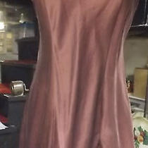 Brown 100% Silk Nighty Size Large Victoria's Secret  Lingerie  Photo