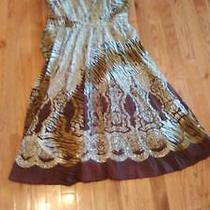 Brown African Womens Dress Photo
