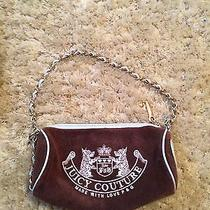 Brown and Blue Juicy Couture Purse Photo