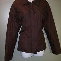 Brown Barbour Quilted Newmarket Sport Barn Jacket 18 Great Photo