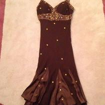 Brown Beaded Dress Never Worn Photo