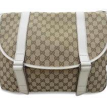 Brown Canvas Shoulder Bag Photo