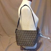 Brown Classic Monogram Fendi Handbag Photo