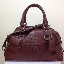 Brown Coach Purse and Wallet Photo