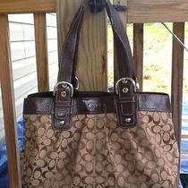 Brown Coach Shoulder Bag  Photo