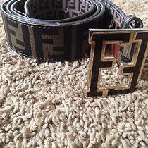 Brown Fendi Belt Photo