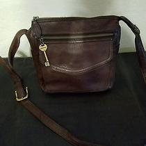 Brown Fossil Purse With Key Photo