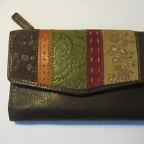 Brown Fossil Wallet Photo