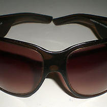 Brown Gucci Sunglasses With Clear Rhinestone Gucci Gg Logo - Gg 2535 / Strass Photo