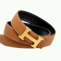 Brown Hermes Belt Photo