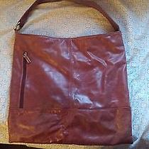 Brown Hobo Purse  Preowned Photo
