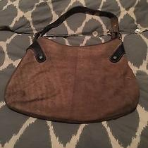 Brown Italian Suede Bag Pulicati  Suede and Leather  Photo