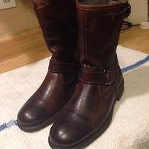 Brown Leather Aldo Boots Photo